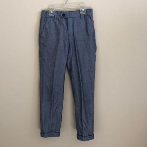 H&M boy's 7-8t dress pants 100% cotton